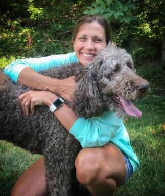 Veterinary Technician, Pretty, Standard Poodle, Kathie Vaughn