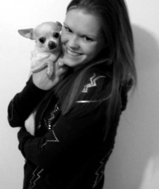 Veterinary Assistant, Brooke Floyd, Caspian, Chihuahua